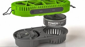 PowerTrek portable charger that runs on water