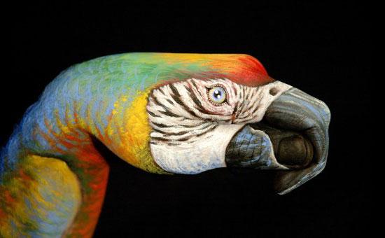 hand painting art guido daniele 24 - Amazing Hand art