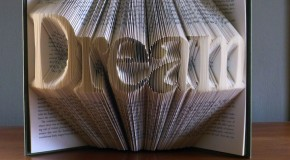 Folded Book Pages Art Sculputes by Luciana Frigerio