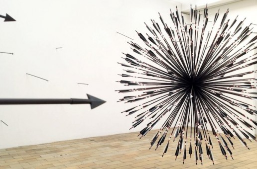 Arrow Sphere Installation by Smigla-Bobinski