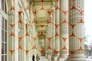 New Geometric Projection by Felice Varini in Paris