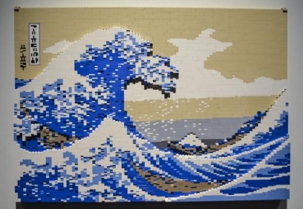 Creative Visual Art New York Lego Exhibit Inspired By