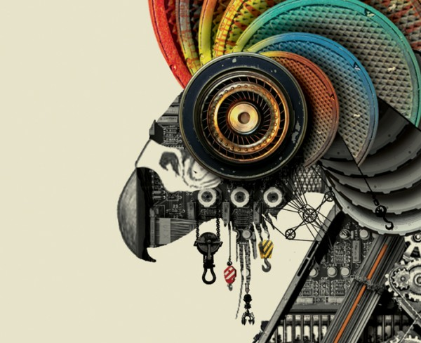 Creative Visual Art | A menagerie of mechanical animals by ...